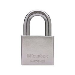 "Master Lock 532DPF Chrome Plated Solid Steel Padlock 2"" (51mm)"