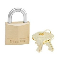 Master Lock 130KAD Keyed Alike Solid Brass Padlocks