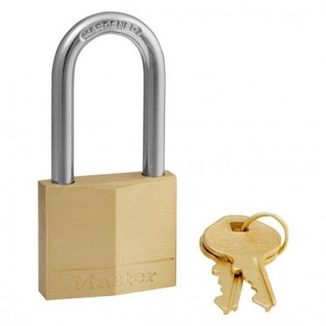 Master Lock 140DLF Long Shackle Solid Brass Padlocks