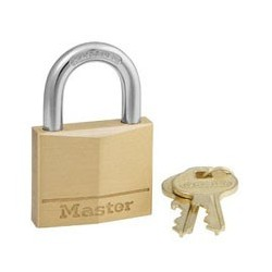 Master Lock 140KAD Keyed Alike Solid Brass Padlocks