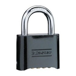 Master Lock 178D Set-Your-Own Combination Padlock (Black Finish)