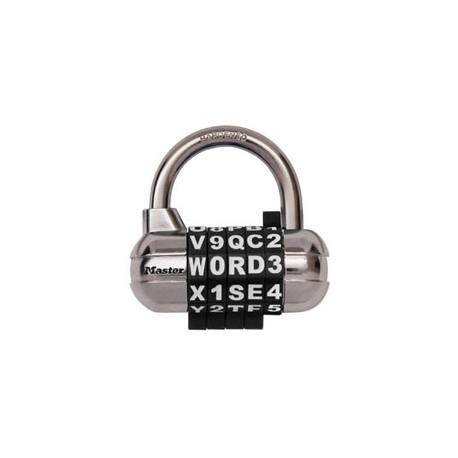 Master Lock 1534D Password Plus Set-Your-Own Combination Padlock