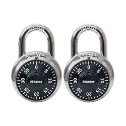 Master Lock 1500T Combination Padlock (2-pack)