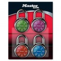 Master Lock 1505D Combination Padlock (Assorted Dial Colors)