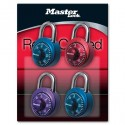 Master Lock 1530DCM Anodized Combination Padlock (Assorted Colors)
