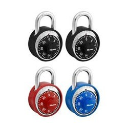 Master Lock 1530T Anodized Combination Padlock (2-pack)