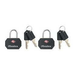 Master Lock 4681TBLK TSA-Accepted Luggage Padlock