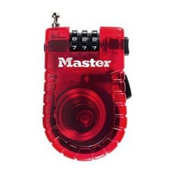 Master Lock 4605D Retractable Cable Lock