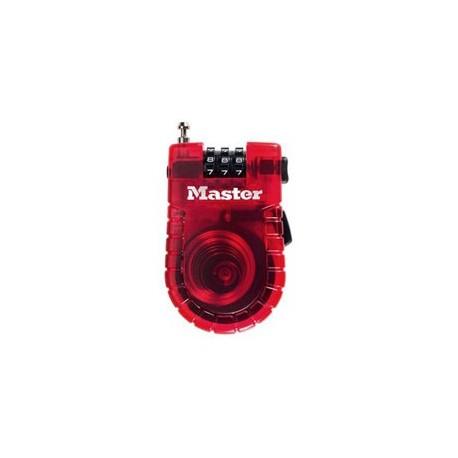 Master Lock 4605D Retractable Cable Lock