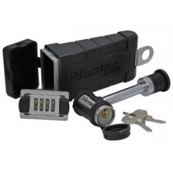 "Master Lock 1467DAT Key Safe 5/8"" Chrome Steel with Swivel Head Lock"