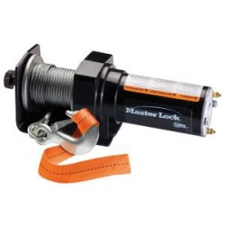 Master Lock 2955AT Permanent Mount ATV Winch