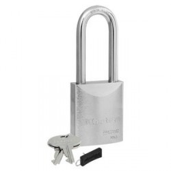 "Master Lock 7053LJ Pro Series Recodable Solid Steel Padlock 2"" (51 mm)"