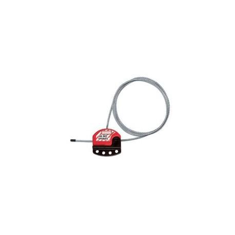Master Lock S806CBL3 OSHA Adjustable Cable Lockout