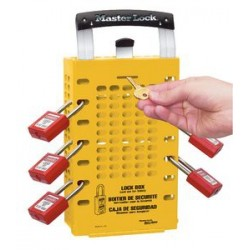 Master Lock 503YLW OSHA Group Lock Box
