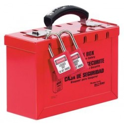 Master Lock 498A OSHA Portable Group Lock Box