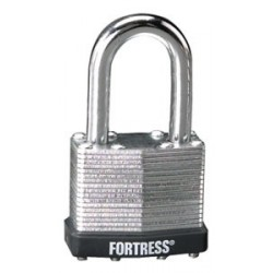 "Master Lock 1803D Fortress Series Laminated Steel Pin Tumbler Padlock, 1-1/2"" (38mm)"