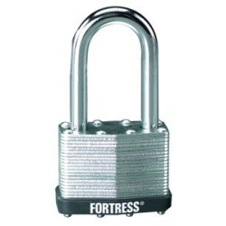 "Master Lock 1805D Fortress Series Laminated Steel Pin Tumbler Padlock, 2"" (51mm)"