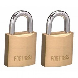 Master Lock 1820T Fortress Series Solid Steel Padlock, 3/4""