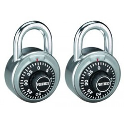 Master Lock 1850T Fortress Series Combination Lock 2-pack