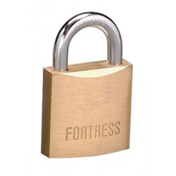 "Master Lock 1825D Fortress Series Solid Brass Padlock, 1"" (25mm)"
