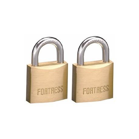 "Master Lock 1840T  Fortress Series Solid Steel Padlock, 1-9/16"" (40mm) 2-pack"