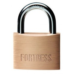 "Master Lock 8850D Fortress Series Solid Brass Padlock, 2"" (51mm)"