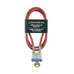 Master Lock 719KA Keyed Alike Cable Lock
