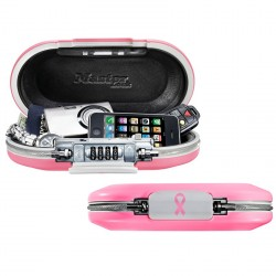 Master Lock 5900DPNK Portable Personal Safe (Pink for Breast Cancer Awareness)