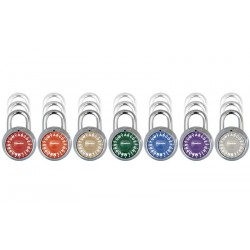 Master Lock 1572 Letter Lock Combination Padlock with Chart