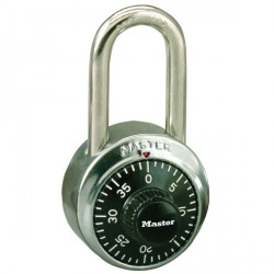 "Master Lock 1500LFKA Combination Alike Padlock 11/2"" Shackle"