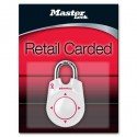 Master Lock 1500iDPNK Breast Cancer Research Foundation Pink Ribbon Speed Dial Set-Your-Own-Combination Padlock