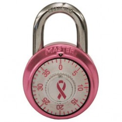 Master Lock 1530DPNK Breast Cancer Research Foundation Pink Ribbon Anodized Padlock