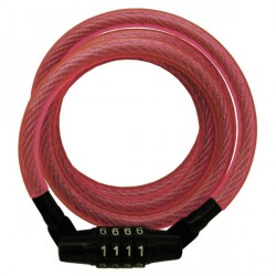 Master Lock 8143DPNK Breast Cancer Research Foundation Pink Compact Combination Cable Lock