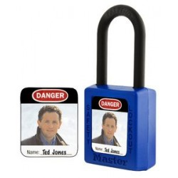 Master Lock S142 Padlock Label for Master 410, 406, S31 and S33 Padlocks