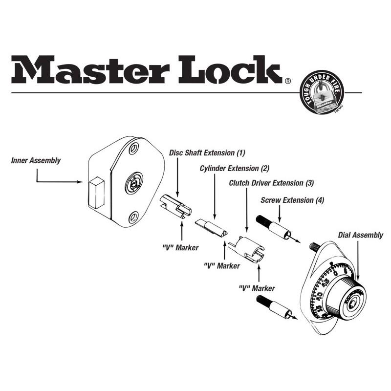 Tremendous Master Lock 1654 0320 Locker Lock Extension Kit Wiring Cloud Pendufoxcilixyz