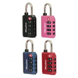 Master Lock 4691DWD Assorted Color Combination Lock