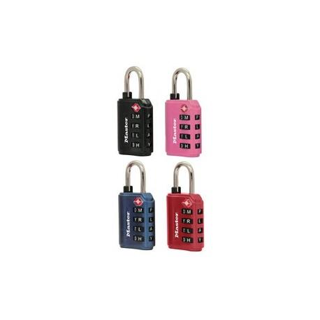 Master Lock 4691DWD Assorted Color Combination Lock