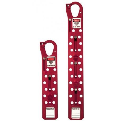 Master Lock S440/S450 Large Sliding Lockout Hasps - 12 or 24-Hole