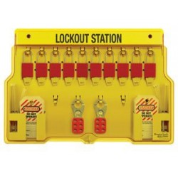 Master Lock 1483BP1106 Padlock Station