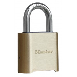 "Master Lock 975 2"" Resettable Comination Padlock - Brass"