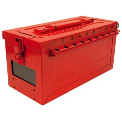Master Lock S600 Series Portable Group Lock Box with Key Window