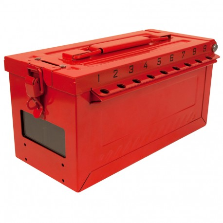 Master Lock S600 Series Portable Group Lock Box with Key Window