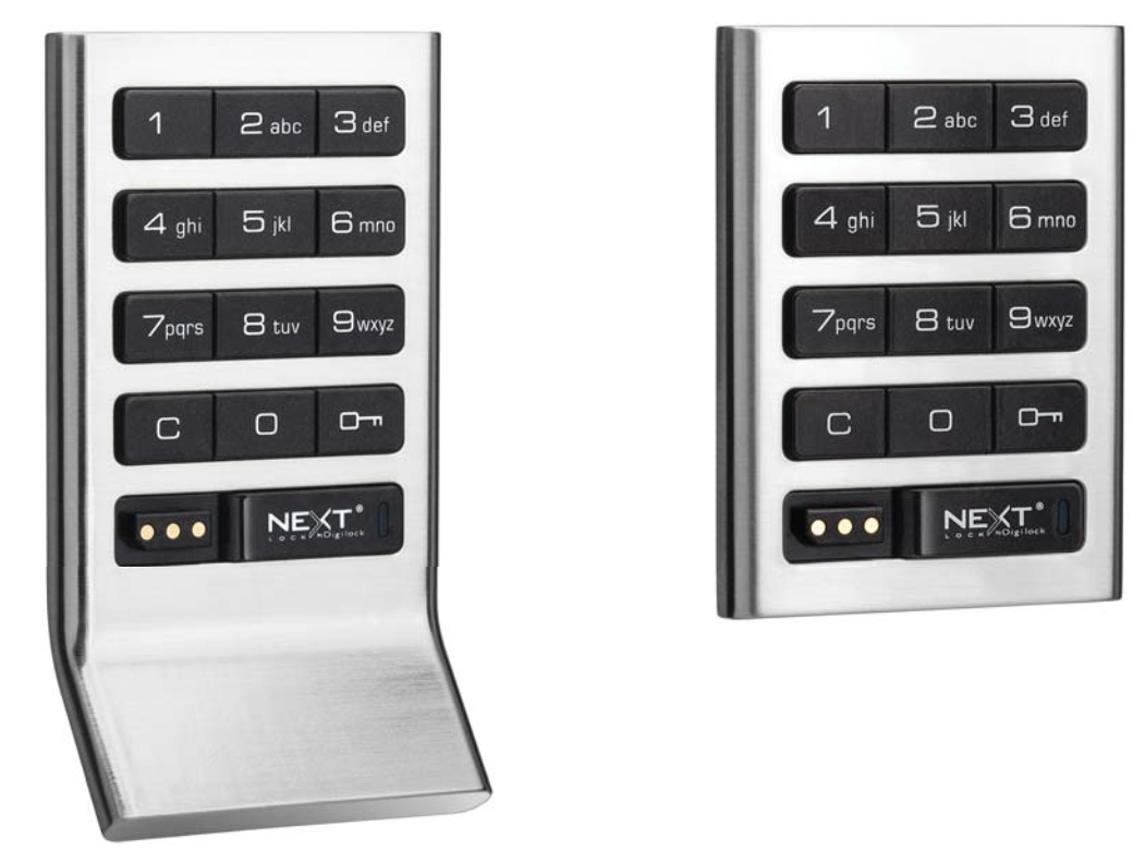 Residential Cabinet Electronic Locks Keyless Push Button Digilock Axis Standard Keypad Digital Locker Lock