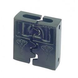 Mul-T-Lock HaspLock Diamond - Combined Padlock & Hasp
