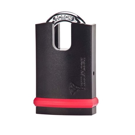 Mul-T-Lock NE-Series Heavy Duty Padlock, High Guard (Classic or Interactive+, Old Interactive Keyway)