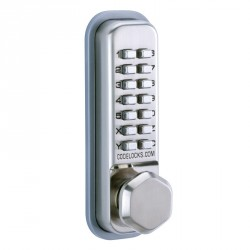 "Codelocks CL200 Series Mechanical Lock Door Knob, For Door Thickness-1-3/8"" - 2-3/8"""