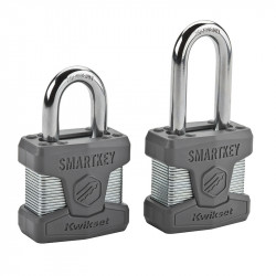 Kwikset Smartkey Rekeyable Laminated Steel Padlock