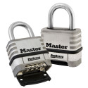 Master Lock 1174 Pro Series Resettable Combination Lock w/ Stainless Steel Body