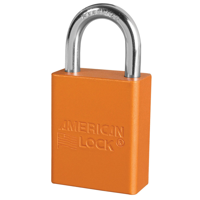 A1105 American Lock Safety Lockout Padlock 1 1 2 Quot 38mm
