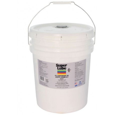 Super Lube 60050 H-3 Direct Food Contact Oil, 5 Gallon Pail